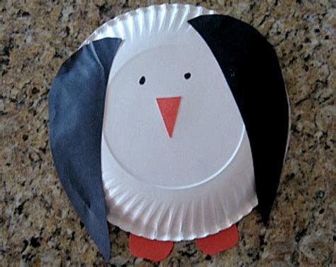 penguin paper plate craft 34 cool and amazing penguin craft ideas hubpages
