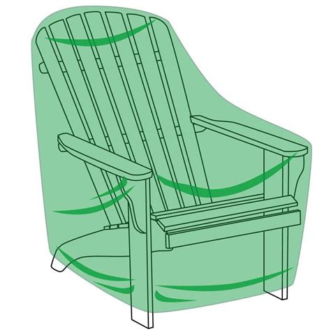 Adirondack Chairs Covers by The Better Outdoor Furniture Covers Rocker Adirondack