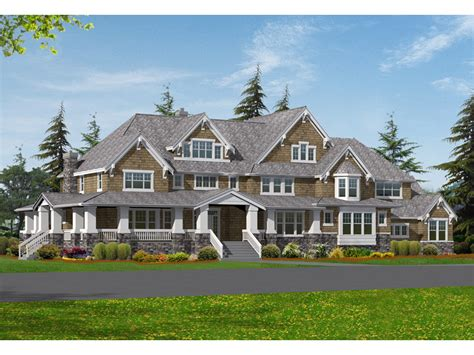 craftsman house plans with pictures sofala luxury craftsman home plan 071s 0048 house plans and more