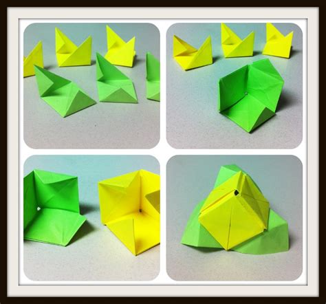 sticky note origami post it note origami tutorial origami handmade