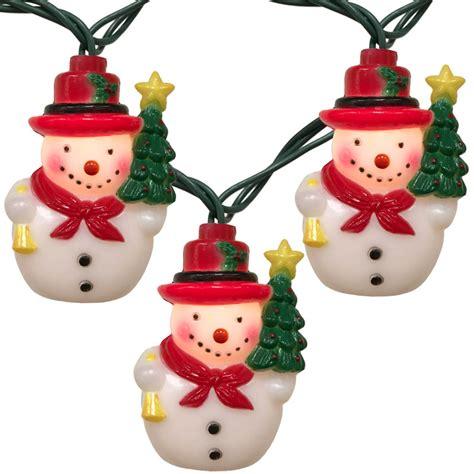 string lights tree snowman string lights 10 lights