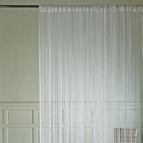 rideau de fils brise blanc rideau rideau voilage stores d 233 coration d 233 coration int 233 rieur