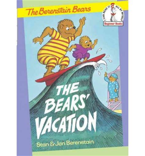 picture books about bears the bears vacation stan berenstain jan berenstain
