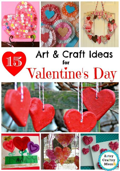 valentines day arts and crafts for 15 simple s day and craft ideas for