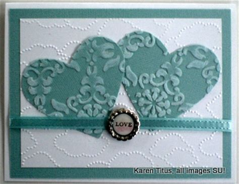 how to make a wedding card stin up wedding card with two hearts karentitus