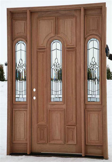 exterior wood doors cheap cheap exterior doors feel the home