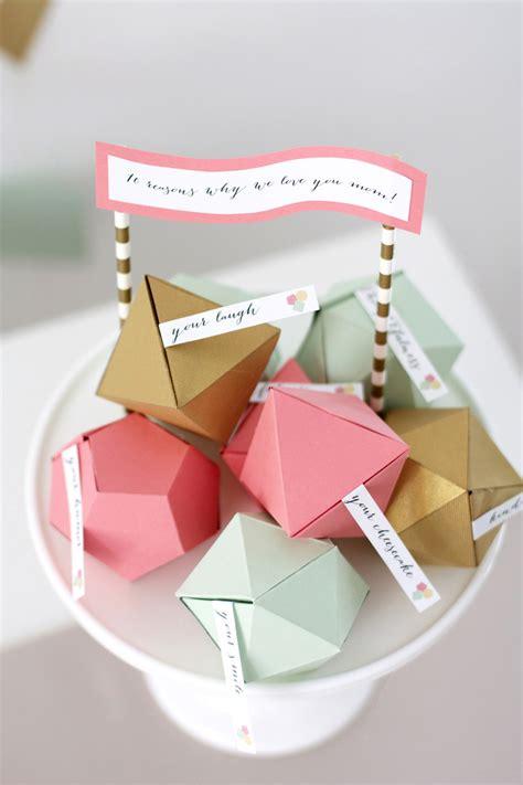 craft gifts for to make geometric s day kristi murphy diy