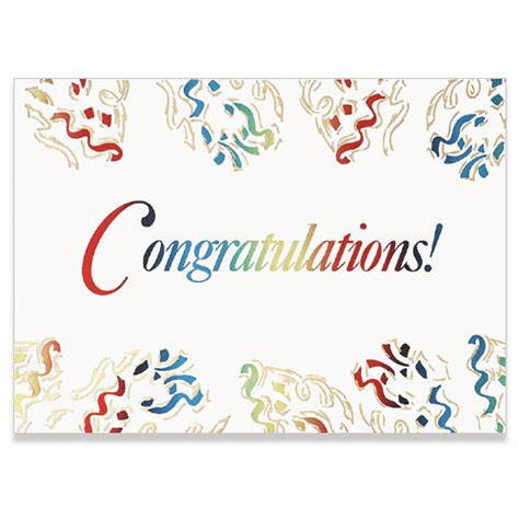 how to make a congratulations card colorful streamers congratulations card on the