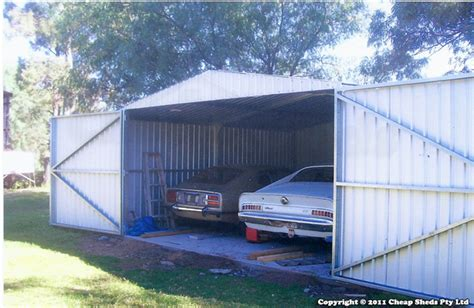 Cheap Garage by Garages Adelaide Cheap Sheds