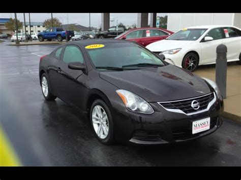 2012 Nissan Altima Coupe by 2012 Nissan Altima Coupe 2 5s Tour Start Up At