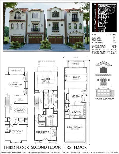 oblong house plans 25 best ideas about duplex plans on duplex