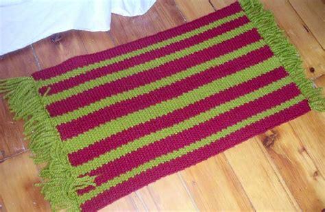 free knitted rug patterns free rug knitting patterns 171 free patterns