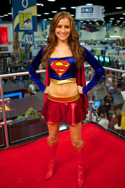 Where Did Obama Vacation candace bailey attended comic con 2011 as supergirl