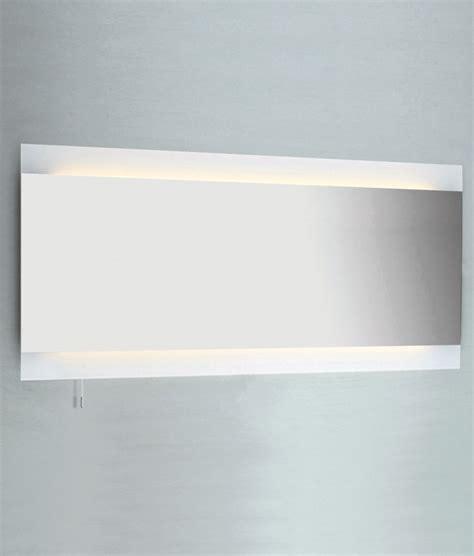 wide bathroom mirror wide 1250mm backlit bathroom mirror for bathrooms