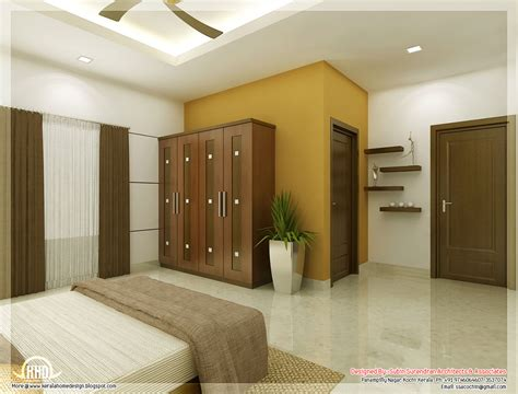bedroom interiors beautiful bedroom interior designs kerala home design
