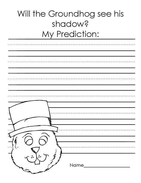 groundhog day kindergarten worksheets the of teaching a kindergarten groundhog day