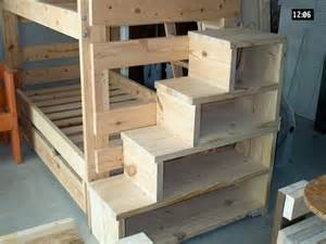 steps for bunk beds bunk bed steps shelves great idea for younger who