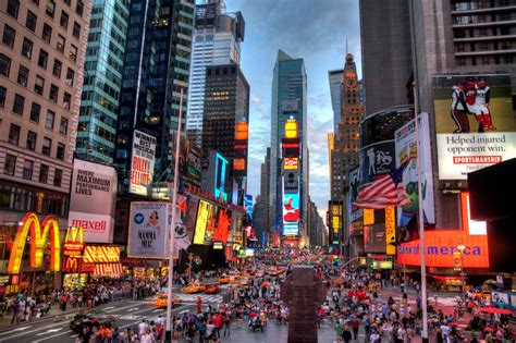 World Visits Times Square In New York City