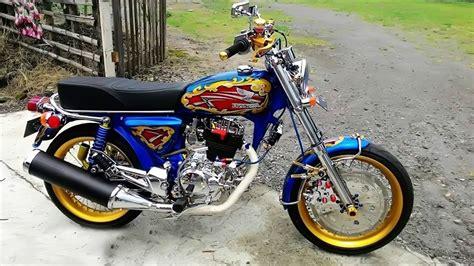 Foto Fariasi Motor by Gambar Modifikasi Motor Honda Cb 100 Modifikasi Yamah Nmax