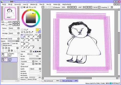 how to paint tool sai on ubuntu кисти для sai как установить софт