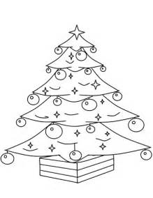 tree ornament coloring pages tree with ornaments coloring page free