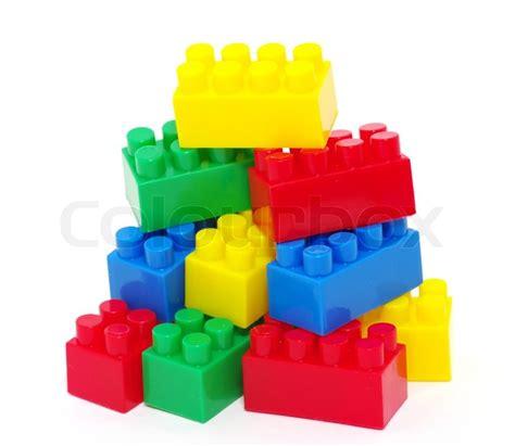 with plastic plastic blocks stock photo colourbox