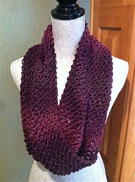 easy infinity scarf knit pattern ravelry infinity lace scarf pattern by louis chicquette