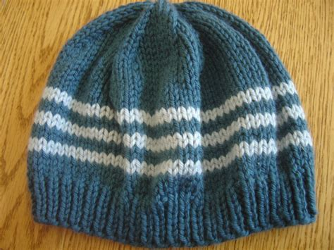 Knitting Patterns For Hats Without Circular Needles