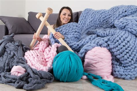 what of yarn for arm knitting how many yarn you need