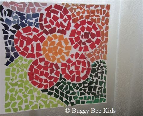 mosaic craft buggy bee crafts for in singapore february 2011