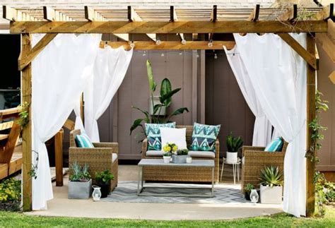 modern terrace design cool lounge furniture outdoor