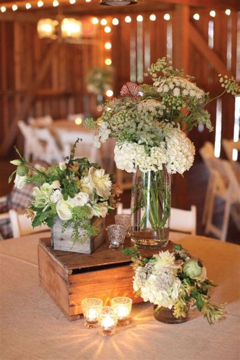 rustic table centerpieces 20 great ideas to use wooden crates at rustic weddings