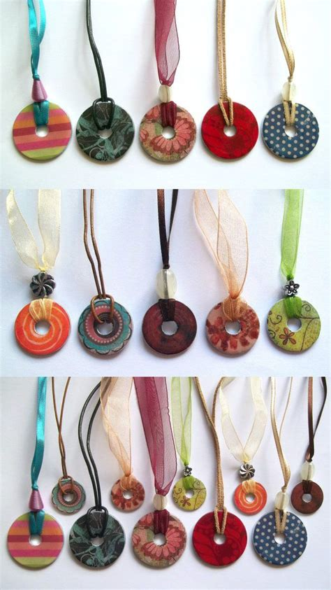 easy jewelry to make and sell things to make and do washer necklace best step by