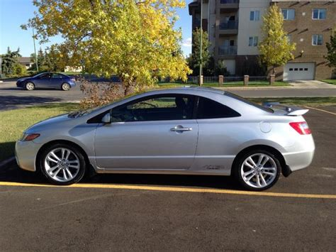 2006 Honda Civic Si For Sale by O B O 2006 Silver Honda Civic Si Coupe For Sale