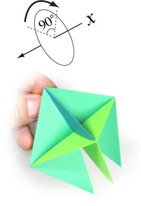 top origami how to make a traditional origami top page 12