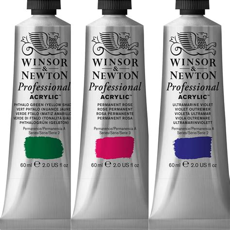 acrylic paint winsor and newton winsor newton professional acrylic 60ml series 2
