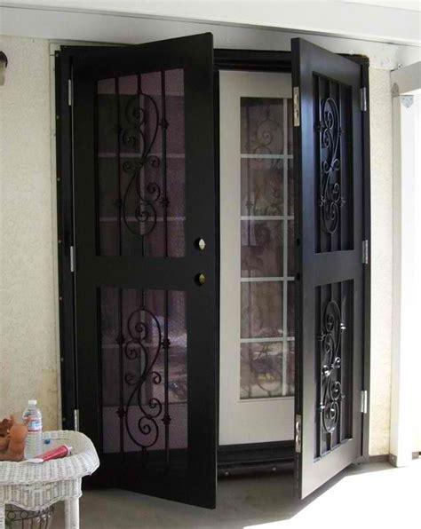 patio security doors best 25 window security screens ideas on