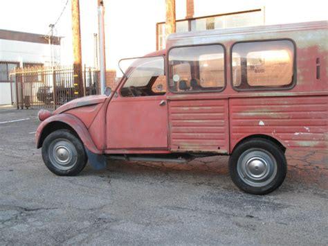 Citroen Cv2 by 1966 Citroen Cv2 Truckster