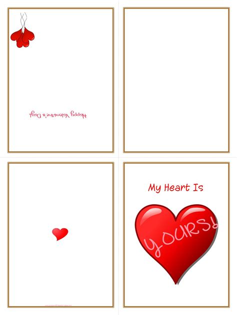 how to make a printable card 5 best images of free printable folding cards free