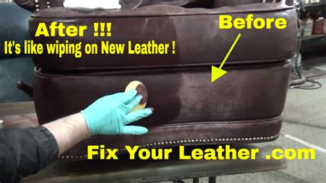 angelus leather paint home depot fix worn and faded leather the easy way