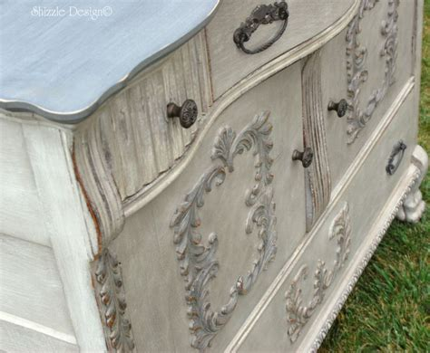 chalk paint layering colors shizzle design vintage buffet layered in rich color