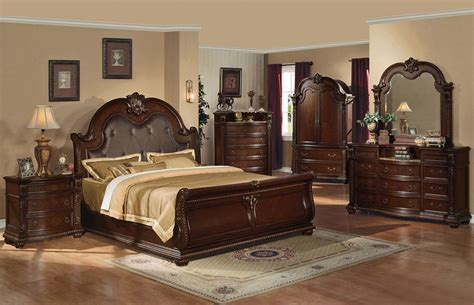 traditional style bedroom furniture anondale traditional style bed