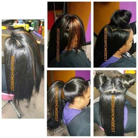 crochet hairstyles with kanekalon hair 35 best crochet braids straight blowout images on