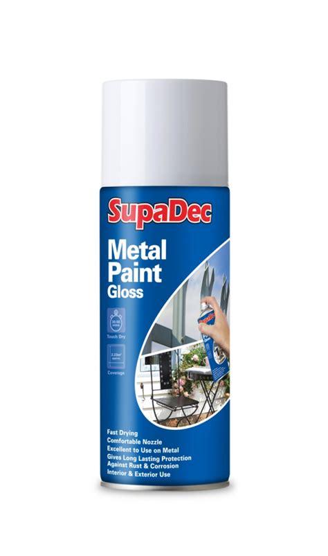 spray paint specification supadec metal spray paint 400ml gloss white measure