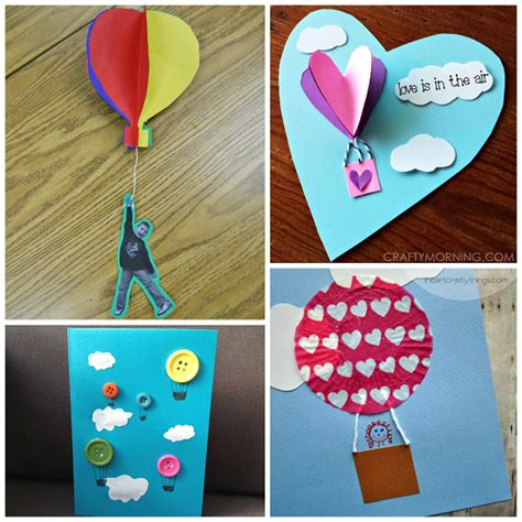 balloon crafts for air balloon crafts for to make crafty morning