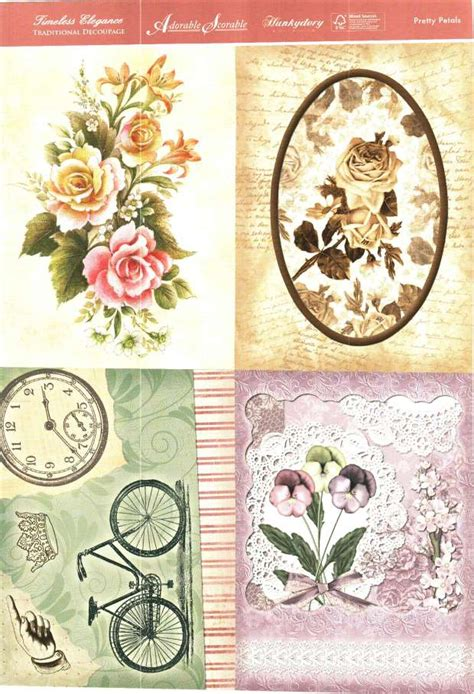 hunkydory decoupage foil play hunkydory timeless elegance traditional