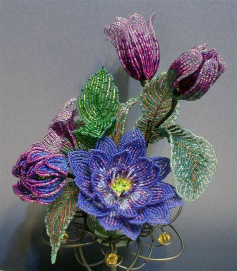 beaded flowers 17 best images about beaded flowers and on