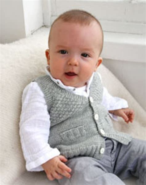 baby waistcoat knitting pattern baby knitting pattern for a lovely waistcoat free
