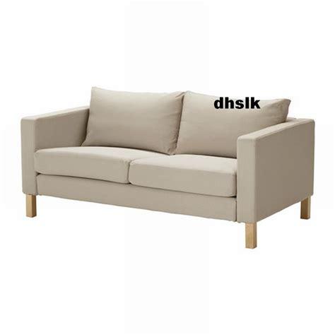 karlstad sofa slipcover ikea karlstad loveseat sofa slipcover cover sivik beige 2