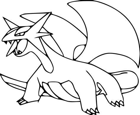 Coloriage Drattak Pokemon Dragon 224 Imprimer Et Colorier